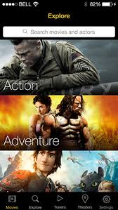 marquee movies iphone app for movies trailers showtimes and