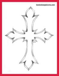 simple cross tattoo outline best home decorating ideas