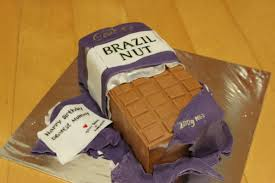 cadbury brazil nut chocolate bar cake