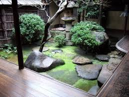 japanese internal garden zen gardens pinterest gardens