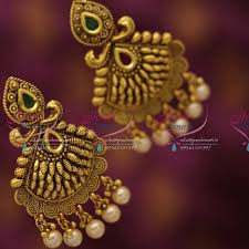 artificial earrings online er6784 antique chand bali earrings handmade artificial