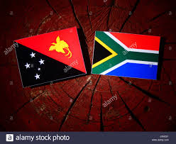 The New South African Flag Waving Flag Papua New Guinea Stock Photos U0026 Waving Flag Papua New