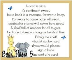 baby shower book instead of card poem baby shower poems for invitations yourweek a9c371eca25e