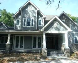 slate gray exterior house gray slate hardie plank best gray paint