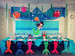 Birthday Home Decoration Fresh Little Mermaid Birthday Party Decoration Ideas Luxury Home