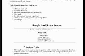 Restaurant Waitress Resume Sample by Resume Writing As Waitress Reentrycorps
