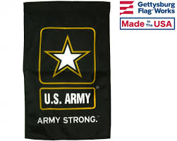 Army Flag Pictures U S Army Strong Garden Flag