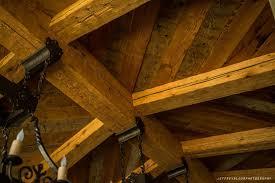 hand hewn douglas fir beams vintage timberworks