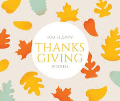 100 happy thanksgiving words holidappy