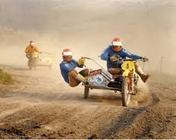 motocross bike race vintage sidecar cross off road team work sidecar motorcycle