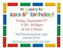 Birthday Invitation Card Sample Wording Birthday Party Invitation Card Sample
