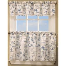 Kitchen Valances And Tiers by By The Sea Kitchen Curtains By Lorraine