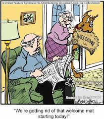 funny welcome welcoming cartoons and comics funny pictures from cartoonstock