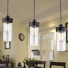 island lighting in kitchen wellyer elpis 3 light kitchen island pendant reviews wayfair