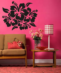 Amazon Wall Murals by Amazon Com Vinyl Wall Decal Sticker Hibiscus Flowers Os Aa238b