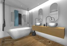 minosa sydney city apartment modern bathroom design with corian