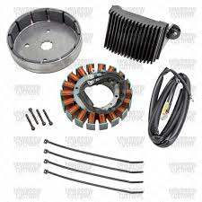stator rotor and regulator kit for 1999 2003 harley davidson flh