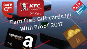 gift debit cards get kfc dominos ccd gift cards for free 100 working 2017