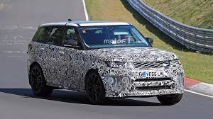 land rover sport land rover range rover sport svr spied lapping the u0027ring