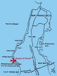 california map half moon bay of hearts sportfishing how to find us pillar point harbor