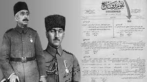 Last Ottoman Sultan Atatürk Was Ordered By The Sultan To Turkish War Of