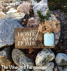 home sweet home signrustic home decorfarmhouse home