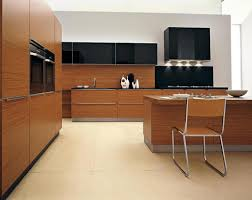 modern kitchen ideas with chair and black cabinet 3719