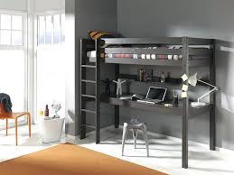 lit mezzanine 1 place bureau integre lit mezzanine avec bureau integre idee 1 et armoire integres