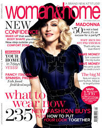 madonna on the cover of woman u0026 home magazine all about madonna