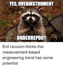 Evil Raccoon Meme - 25 best evil raccoon memes train track memes so evil memes and