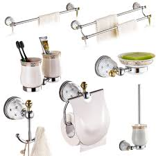 Silver Bathroom Accessories Sets by Online Get Cheap Silver Bathroom Accessories Aliexpress Com