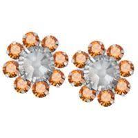 flirties earrings earrings baby betty bob posts orange tennessee volunteers 15