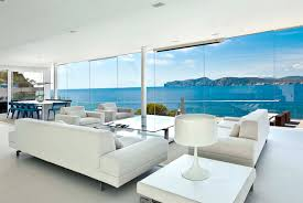 Modern Beach House Plans White Wall Modern Beach Houses With Sea View Pictures That Can Be
