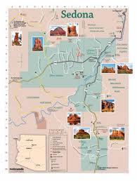 map az map of sedona az visit sedona