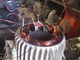 skema dinamo bor listrik cara gulung angker dinamo
