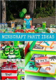 minecraft party supplies minecraft birthday party ideas spaceships and laser beams