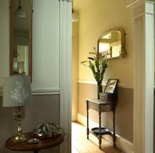 interior wall covering ideas colorful wood wainscot
