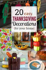 diy thanksgiving decorations 20 thanksgiving ideas