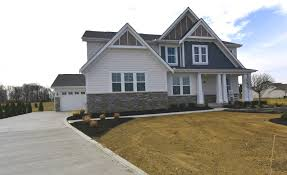 Fischer Homes Design Center Kentucky by The Grandin Reserve At Pickerington Ponds Exteriors Fischer