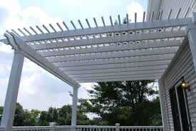 Pergola Designs With Roof by Garden U0026 Outdoor Snow White Pergola Plans For Backyard Decor