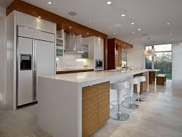 Kitchen  Amazing Kitchen Breakfast Bar Design Ideas With Long - Kitchen breakfast bar tables