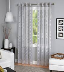 gray elrene home fashions tier curtains polyester sears
