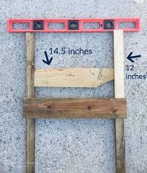 diy blanket easy u0026 rustic diy blanket ladder for less than 10