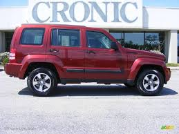 jeep liberty 2008 2008 red rock crystal pearl jeep liberty sport 17324498