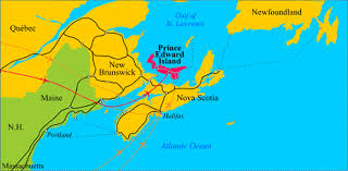 map canada east coast map of the east coast canada major tourist attractions maps