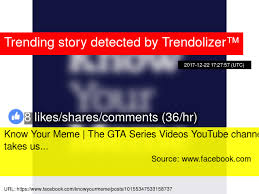Meme Videos Youtube - know your meme the gta series videos youtube channel takes us