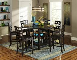 homelegance glendine 7 piece counter height table set w lazy