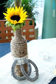 Sunflower Decorations Simple Wedding Table Decor Ideas Diy Centerpieces On A Budget