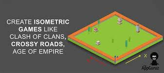 quickly learn to create isometric games like clash of clans or aoe