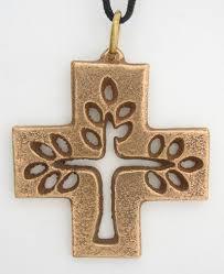 catholic pendants filigreed tree of cross pendant catholic christian
